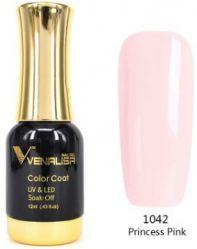 #1042 Гель-лак VENALISA Princess Pink 12мл.