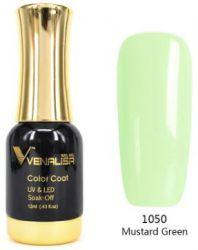 #1050 Гель-лак VENALISA Mustard Green 12мл.