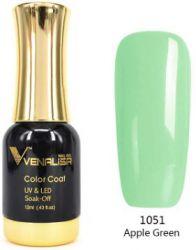 #1051 Гель-лак VENALISA Apple Green 12мл.