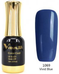 #1069 Гель-лак VENALISA Vivid Blue 12мл.