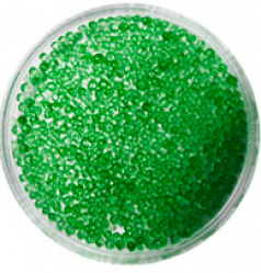 Бульонки № 370 TINY SEVERINA (зеленые, прозрачные)