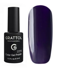 GTC098 Гель-лак Grattol Color Gel Polish - Dark Eggplant 9мл.