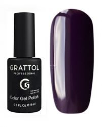 GTC099 Гель-лак Grattol Color Gel Polish - Dark Plum 9мл.