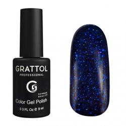 SP001 Гель-лак Grattol Luxury Stones - Sapphire-01 9мл.