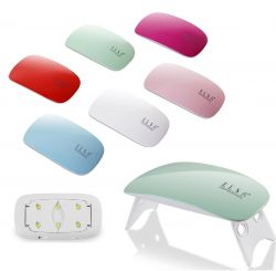 """Лампа UV/LED """"ELSA"""" Mini 9 ватт (голубой корпус)"""
