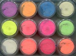 FPN-00 Фосфорный песок в наборе 12шт.х0,7гр. (светится в темноте)