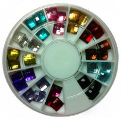 KM-44 Цветные декоративные стразы