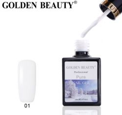 "#001 Гель-лак Golden Beauty "" PURE "" 14мл."