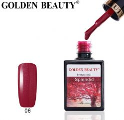 "#006 Гель-лак Golden Beauty "" SPLENDID "" 14мл."