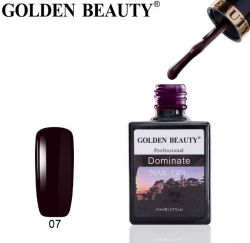 "#007 Гель-лак Golden Beauty "" DOMINATE "" 14мл."
