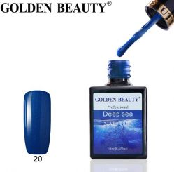 "#020 Гель-лак Golden Beauty "" DEEP SEA "" 14мл."