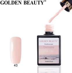 "#043 Гель-лак Golden Beauty "" DELICATE "" 14мл."