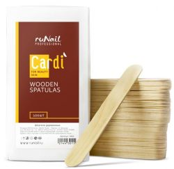 Шпатели деревянные Cardi, 100 шт