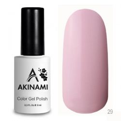Гель-лак AKINAMI №029 Rose Quartz 9мл.
