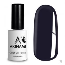 Гель-лак AKINAMI №071 Royal Purple 9мл.