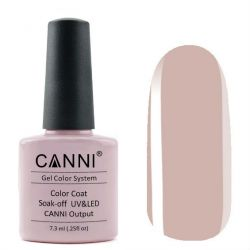 Гель-лак «Canni» #242 Pale Pinkish Gray 7,3ml.