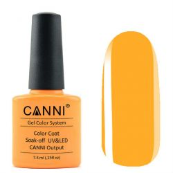 Гель-лак «Canni» #250 Luminous Orange 7,3ml