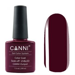 Гель-лак «Canni» #258 Deep Marsala 7,3ml.