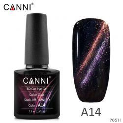 "3D Гель-лак Chameleon «Canni» A014 7,3ml. (""Кошачий глаз"")"