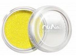 Дизайн для ногтей: мармелад (желтый) Runail Professional