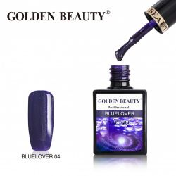 #004B Гель-лак Golden Beauty BLUELOVER 14мл.