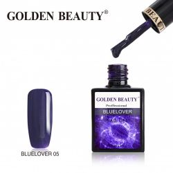 #005B Гель-лак Golden Beauty BLUELOVER 14мл.