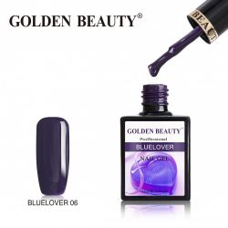 #006B Гель-лак Golden Beauty BLUELOVER 14мл.