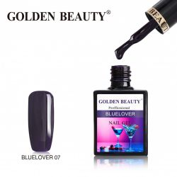 #007B Гель-лак Golden Beauty BLUELOVER 14мл.