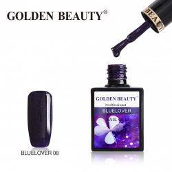 #008B Гель-лак Golden Beauty BLUELOVER 14мл.