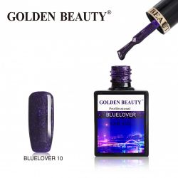 #010B Гель-лак Golden Beauty BLUELOVER 14мл.