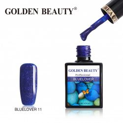 #011B Гель-лак Golden Beauty BLUELOVER 14мл.
