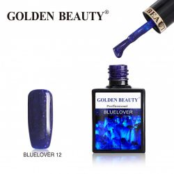 #012B Гель-лак Golden Beauty BLUELOVER 14мл.