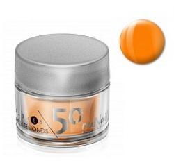Акриловая пудра цветная Fifty Seconds (Оранжевый, Orange), 7 г