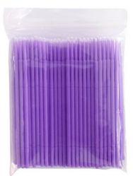 Микробраши для ресниц 100 шт. (цвета в ассортименте)