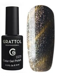 Гель-лак Grattol Color Gel Polish - Magic Chrome 9мл.