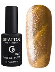 Гель-лак Grattol Color Gel Polish - Magic Gold 9мл.