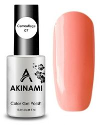 Камуфлирующий тон AKINAMI Color Gel Polish Camouflage 07