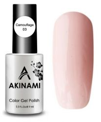 Камуфлирующий тон AKINAMI Color Gel Polish Camouflage 03