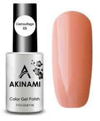 Камуфлирующий тон AKINAMI Color Gel Polish Camouflage 05