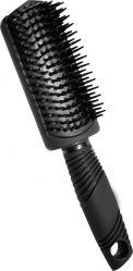 Щётка для волос мини полукруглая без прорезей Beauty