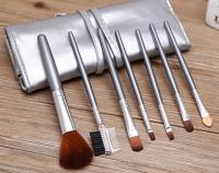 ML-mix-6C Набор искусственных и натуральных кистей в серебрянном футляре