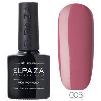 №006 Гель-лак ELPAZA Розовый сон 10мл.