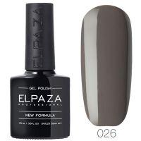 №026 Гель-лак ELPAZA Французский серый 10мл.