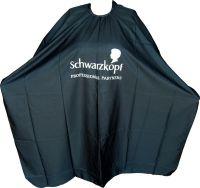 Пеньюар парикмахерский Schwarzkopf (черный)