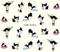 YZW-8494 Слайдер на водной основе (котята)
