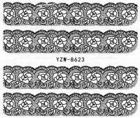 YZW-8623 Слайдер на водной основе (черный)