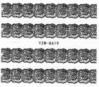 YZW-8619 Слайдер на водной основе (черный)