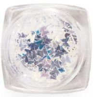 Пайетки зеркальные (бабочки) Runail Professional