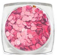Пайетки голографические (розовый) Runail Professional