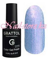 GTC160 Гель-лак Grattol Color Gel Polish -Azure Pearl 9мл.